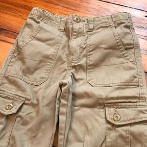 Boys Khaki Carpenter Pants